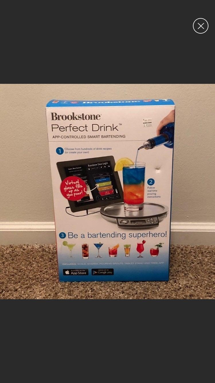 App controlled smart bartender