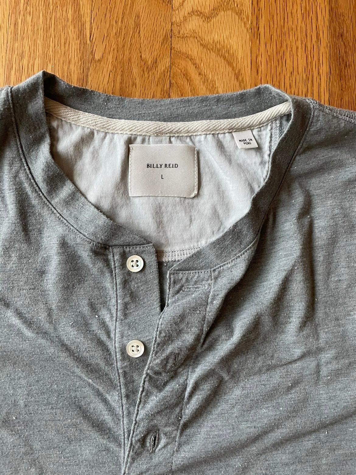 Billy Reid mens L tshirt