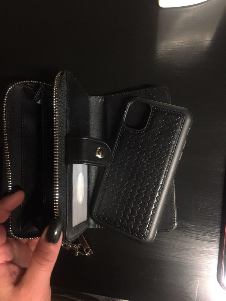 Iphone wallet/clutch case