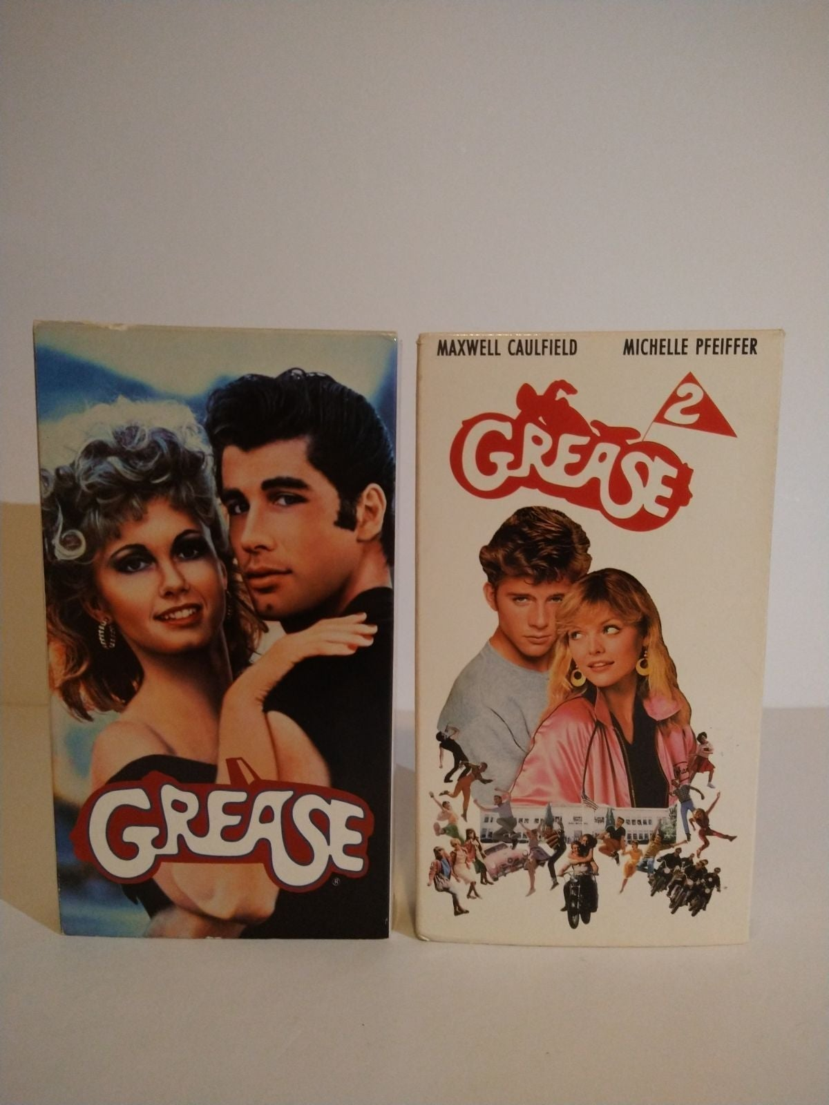 Grease 1 and 2 on vhs