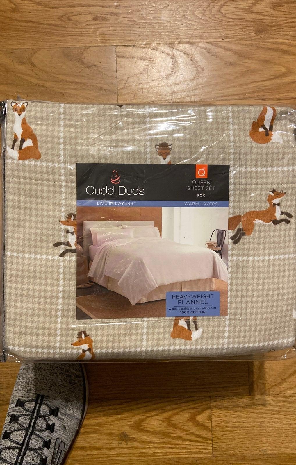 CuddlDuds Sheet Set