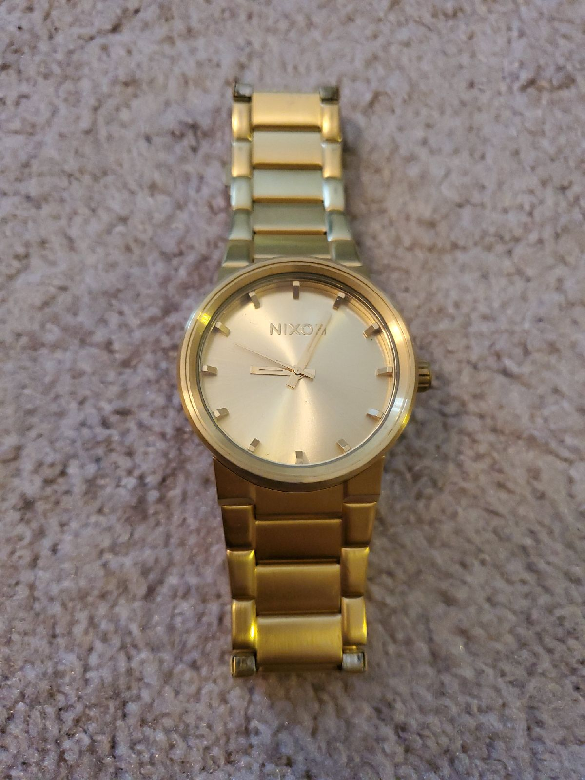 Nixon The Cannon Gold Watch