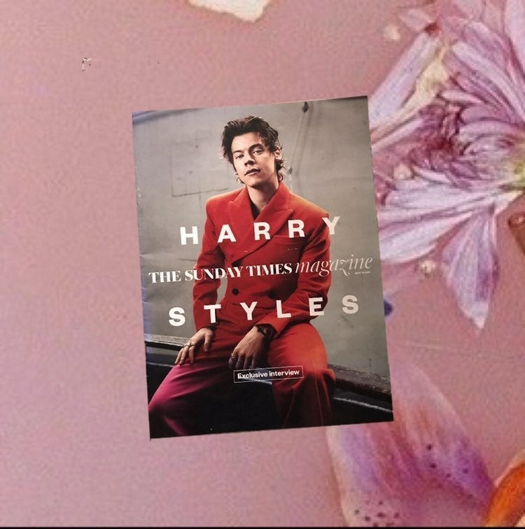 harry styles cover sunday times magazine