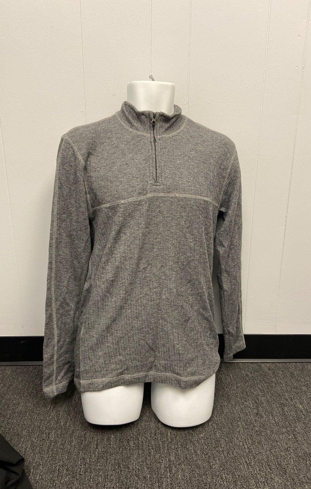 Men's Zip-up Long sleeve shirt size s
