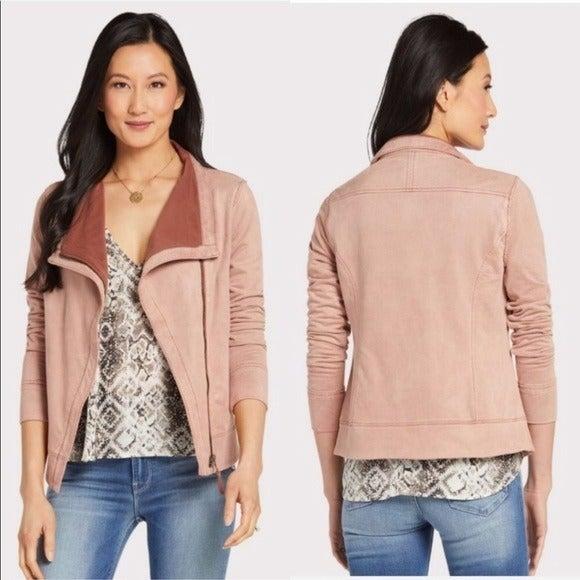 Marrakech Hannah Moto Jacket in Pink