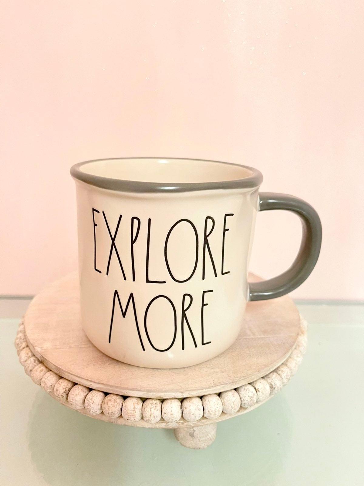 Rae Dunn mug camper mug explore more new