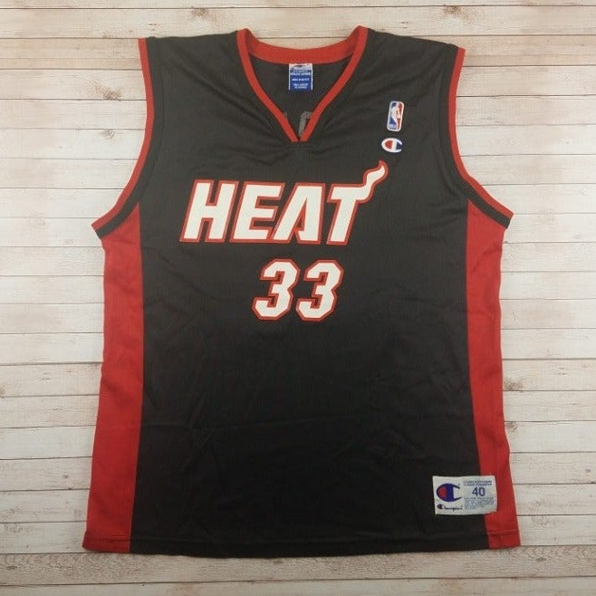 VTG 90s/00s Mourning Miami Heat Jersey