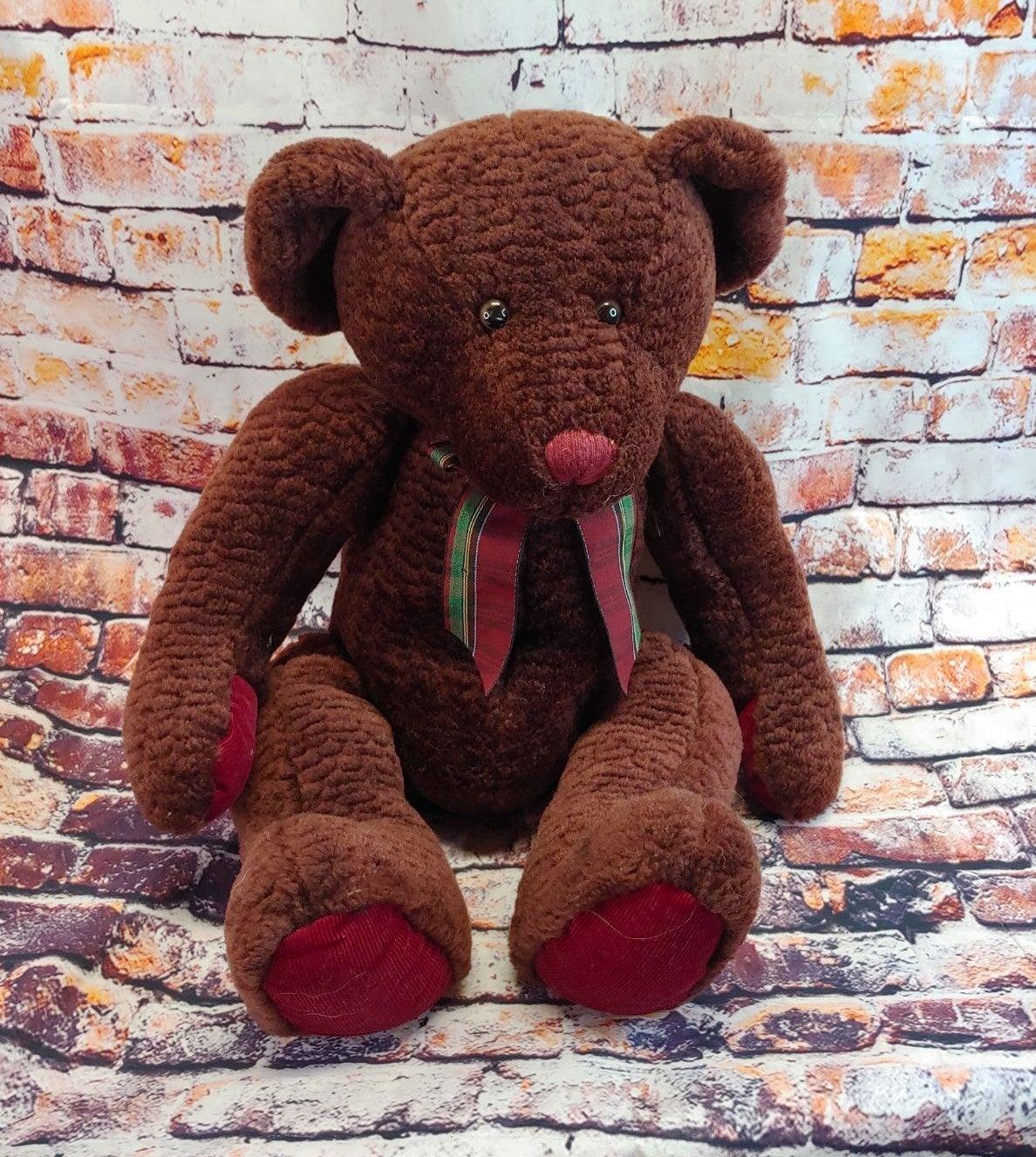Vintage Russ Mulberry Bear