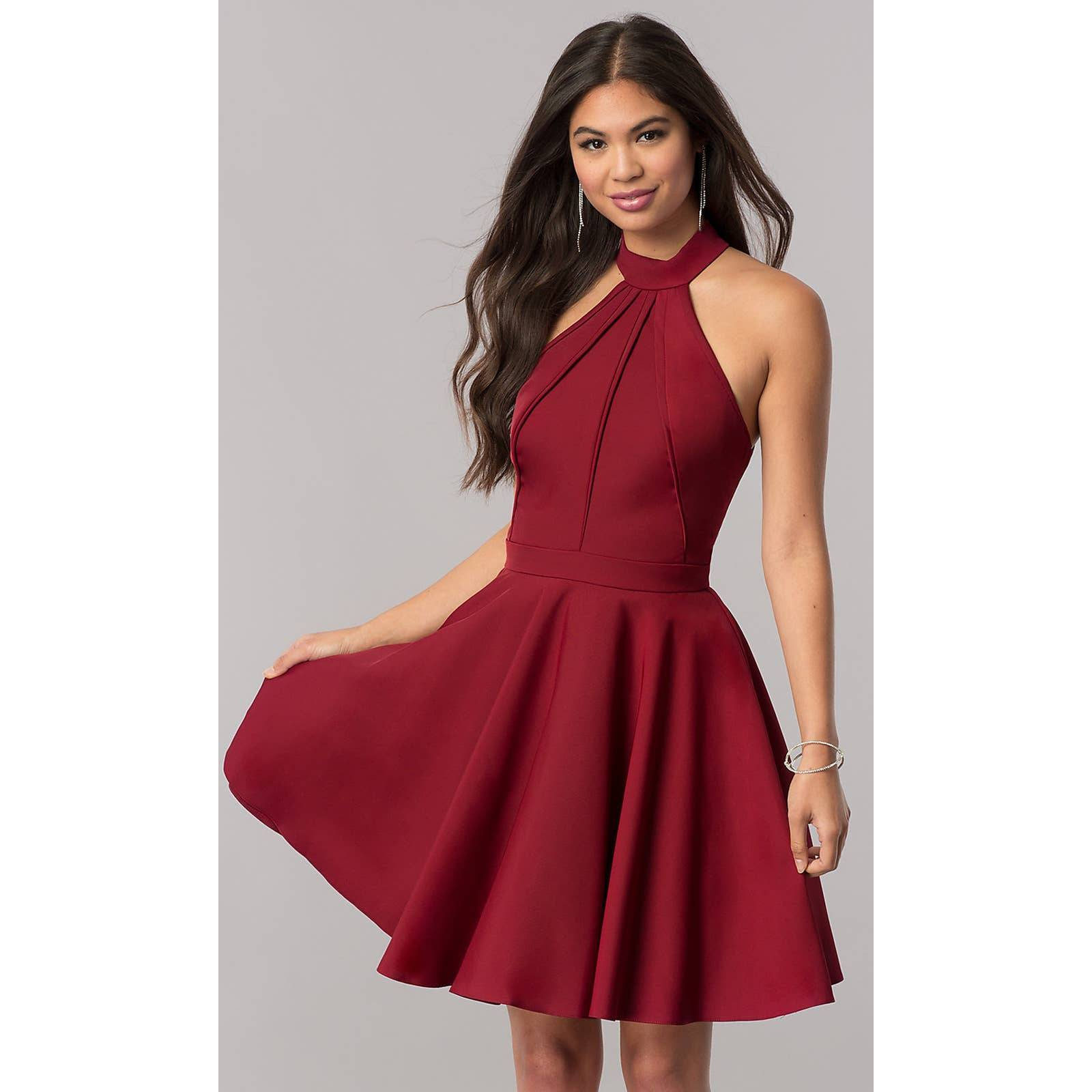 NWT Sherri Hill SH-S51469 Halter Dress