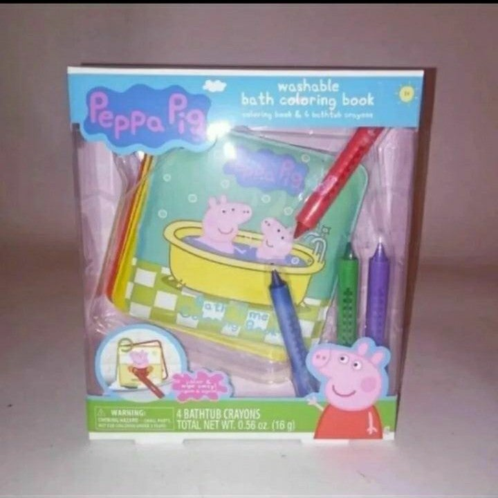 Peppa Pig Washable Coloring Book Brand N