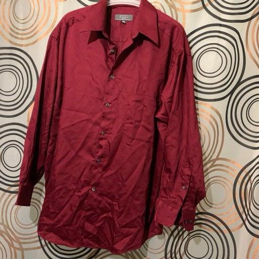 Crazy Horse Button Down Shirt Sz 32/33
