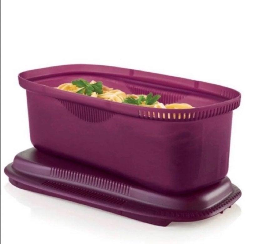 Tupperware mixrowave pasta cooker