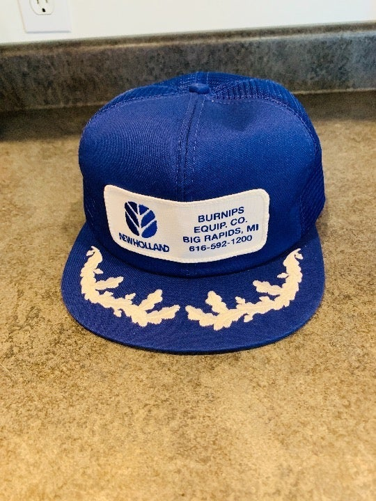 Vintage New Holland Snapback Style Hat