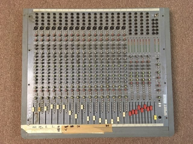SoundCraft Spirit 16 Channel Mixing Boar