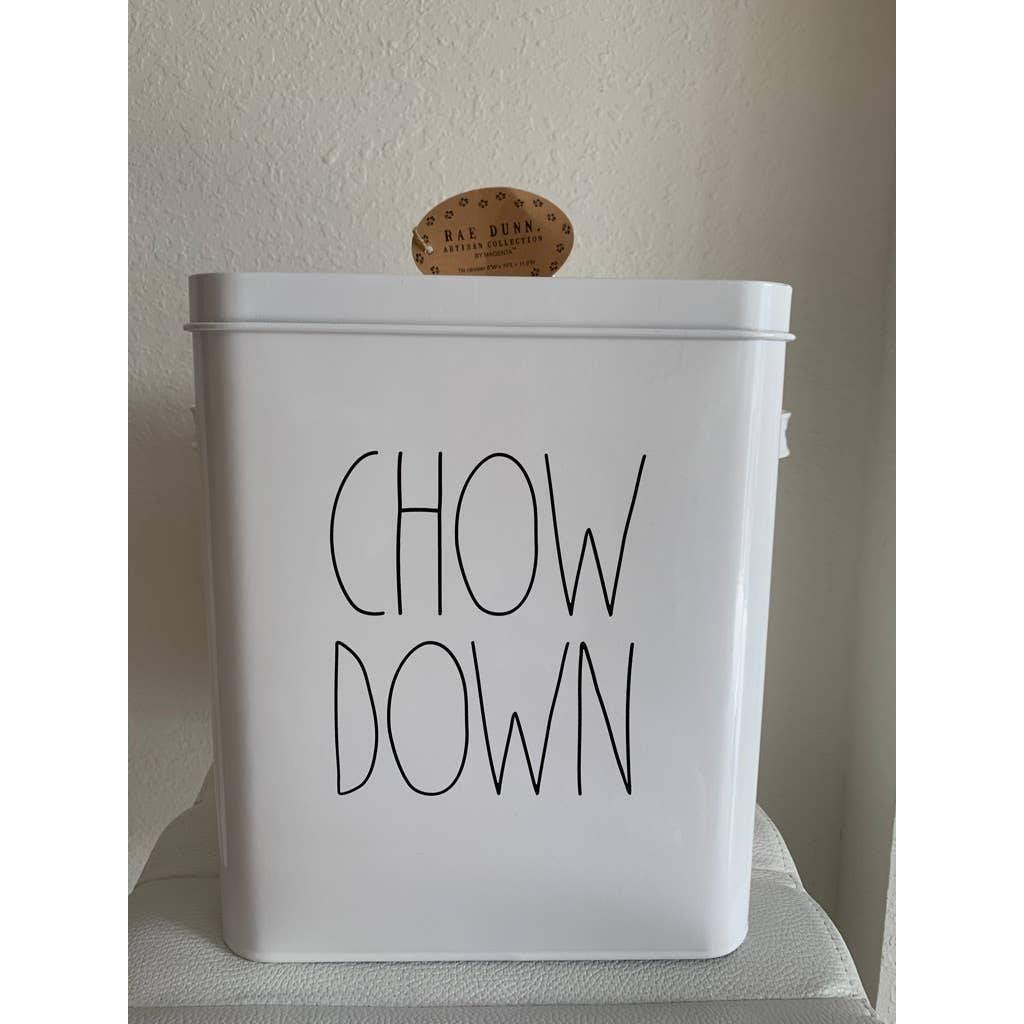 NWT Rae Dunn Chow Down Container
