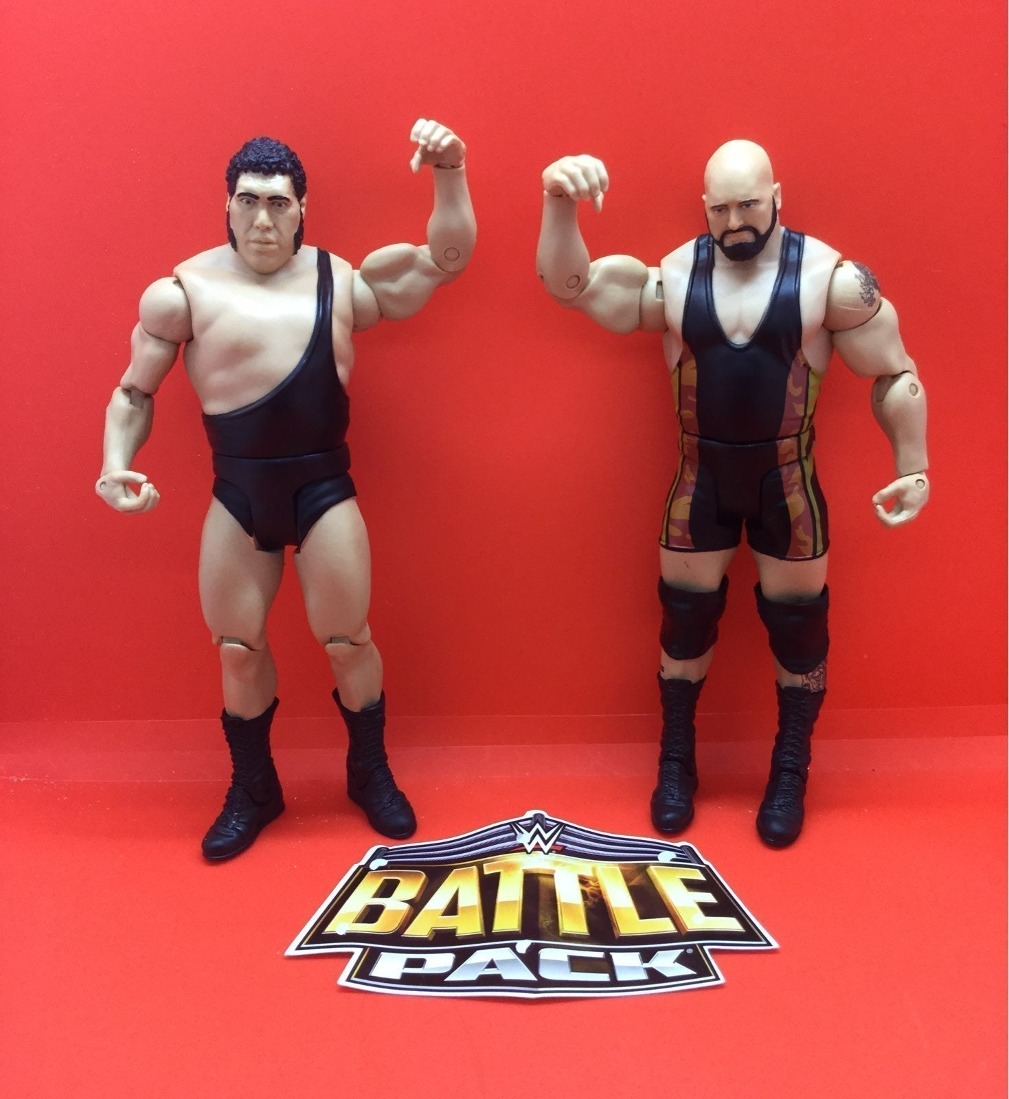 WWE BATTLE PACK ANDRE THE GIANT/THE BIG