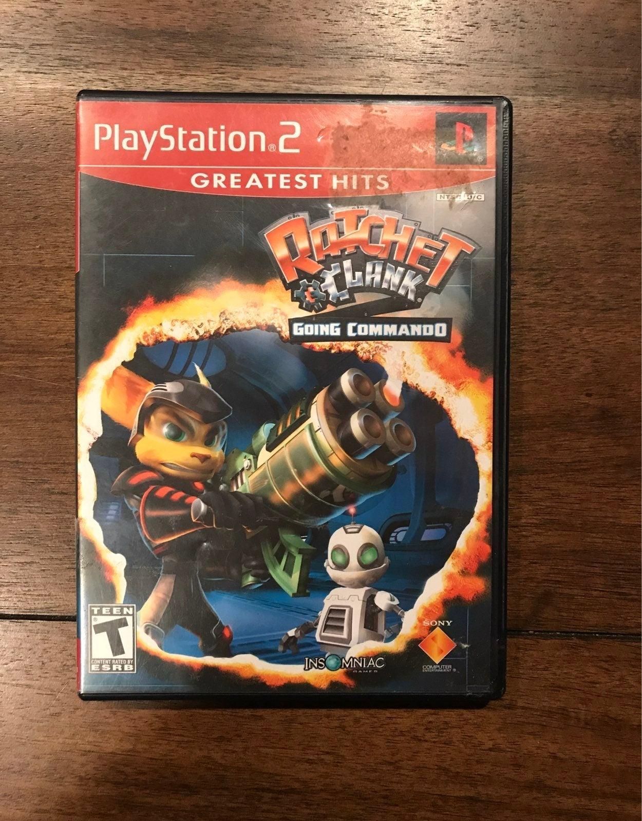 Ratchet & Clank: Going Commando ps2