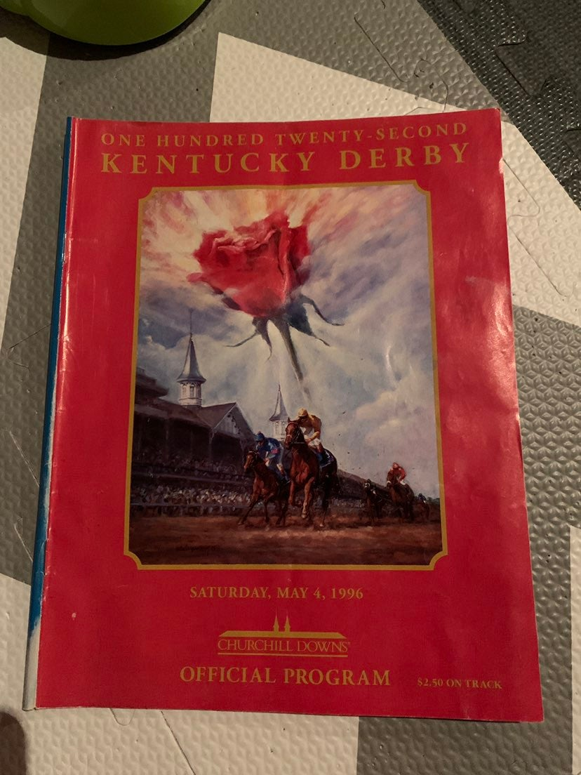 Ky Derby Program