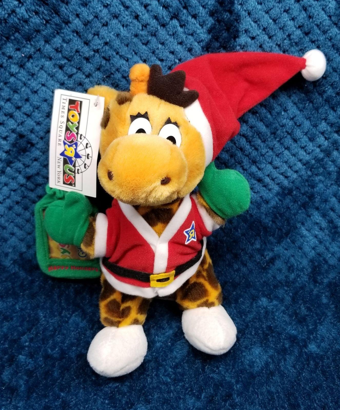 Toys R Us Geoffrey Christmas Plush New Y
