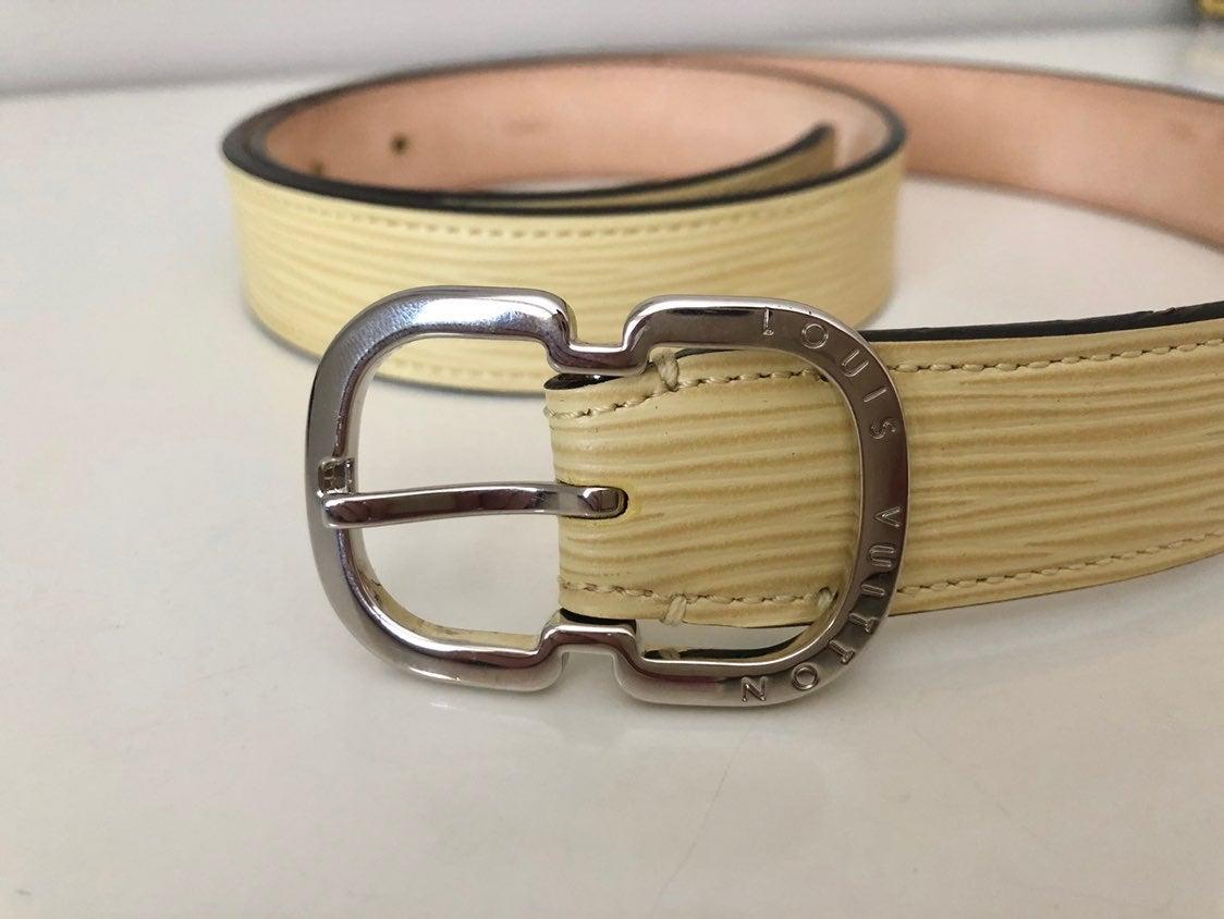 Louis Vuitton Mini Epi Leather Belt