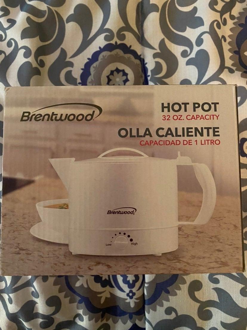 Brentwood Electric Kettle Hot Pot BPA Fr