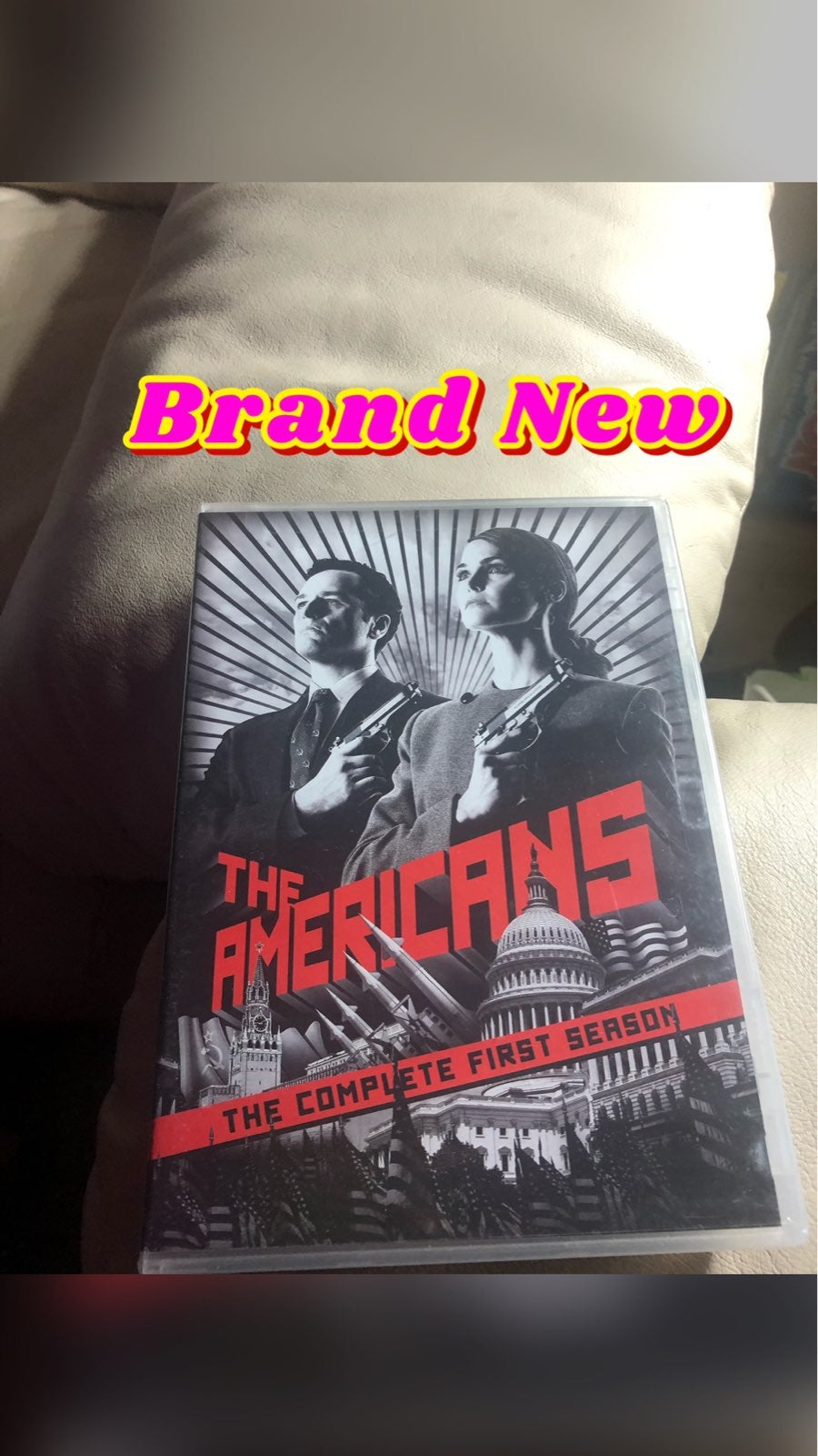 New the americans dvd