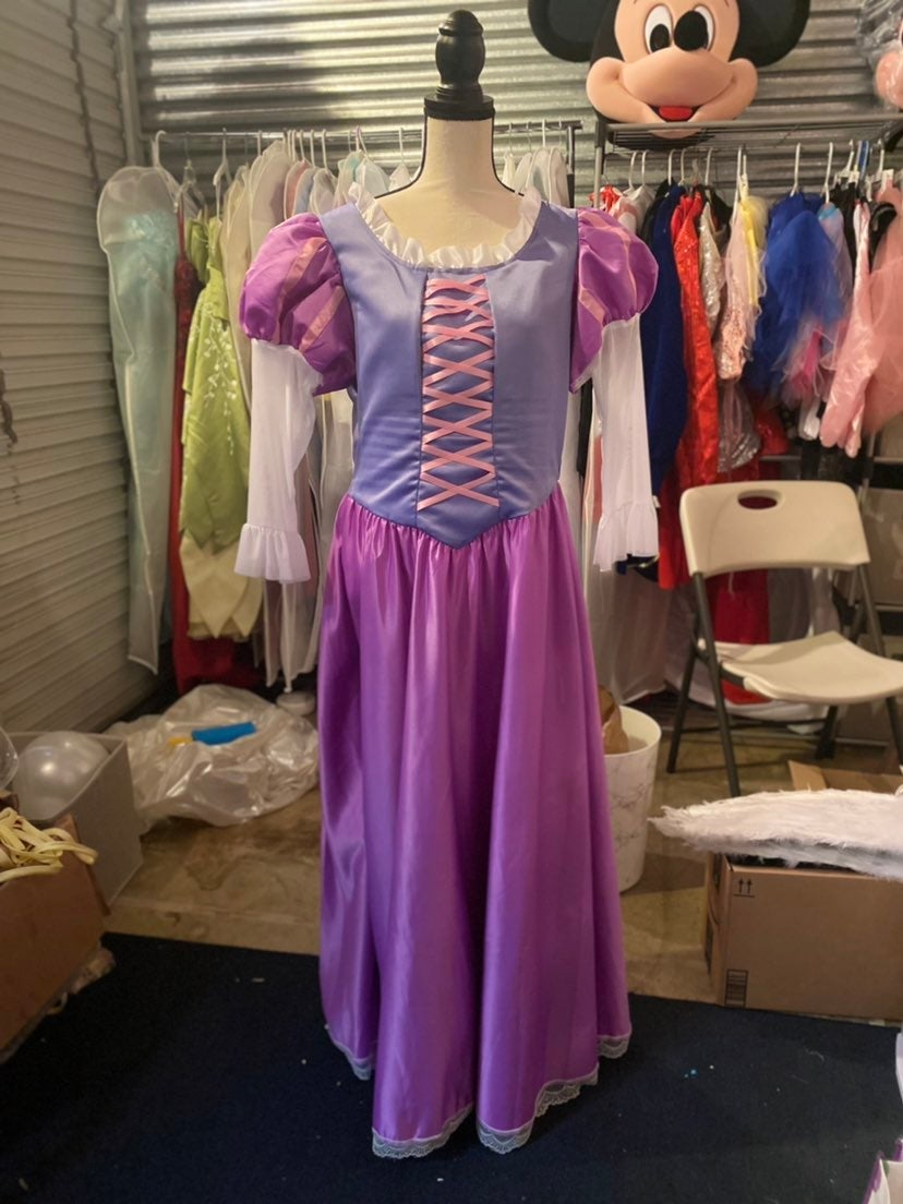 Disney Princess Rapunzel Cosplay Dress