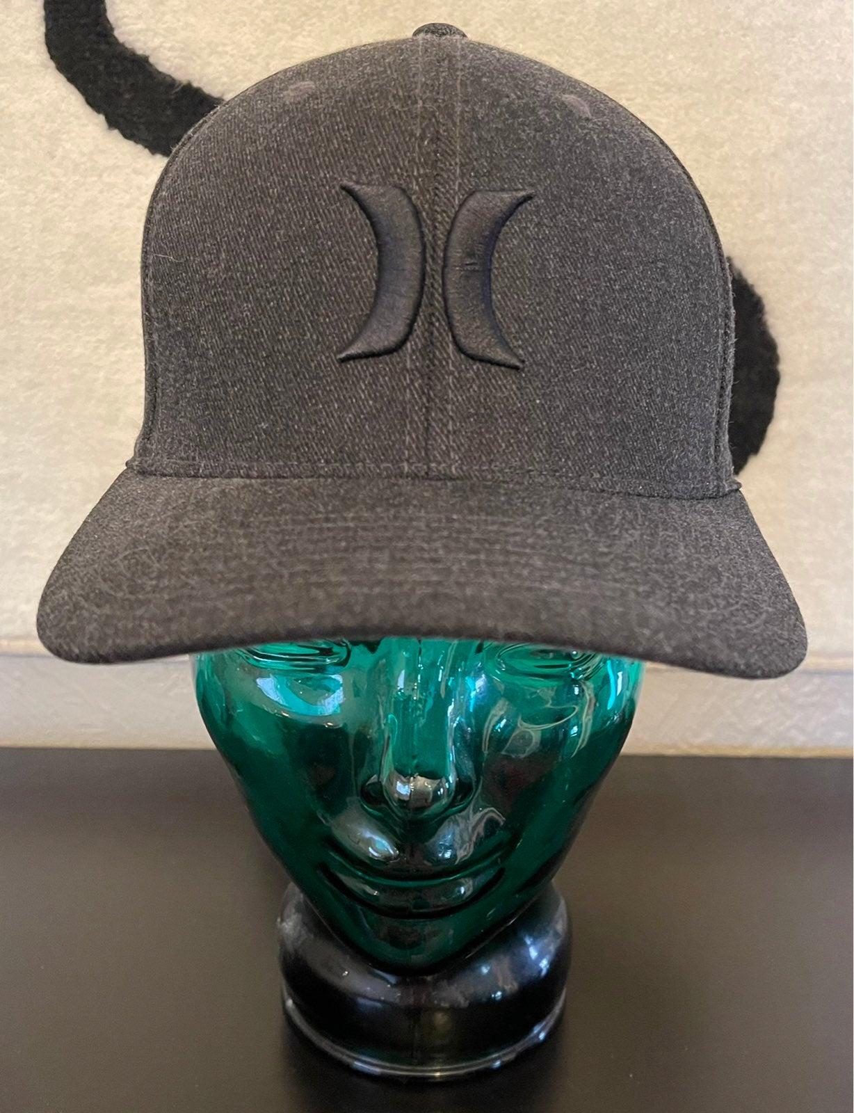 Hurley FlexFit Baseball Cap Fitted Black