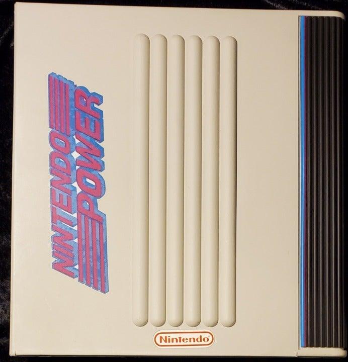 """Nintendo Power 3-Ring """"Stuff It"""" Binder"""
