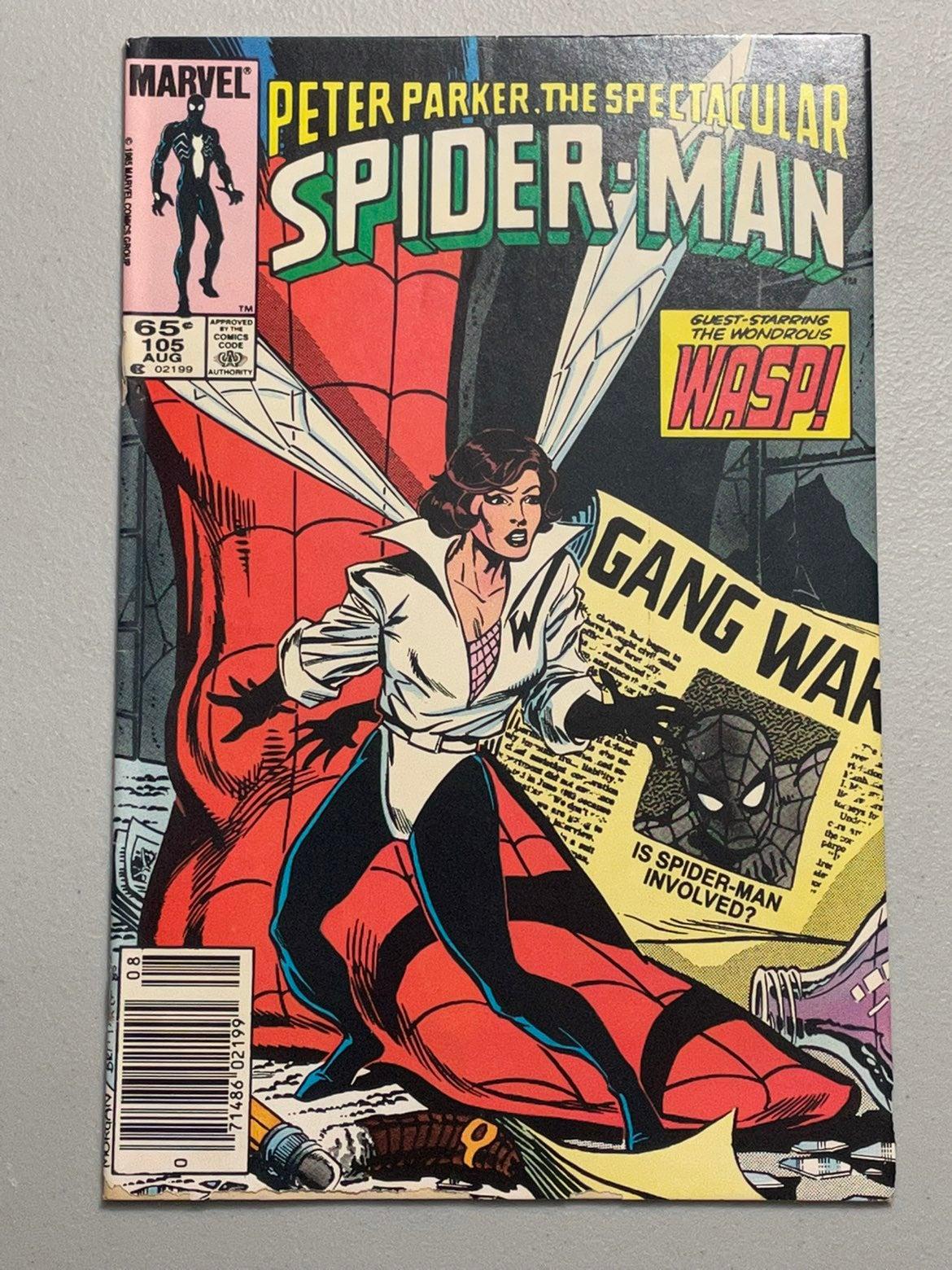 Spectacular Spider-Man # 105