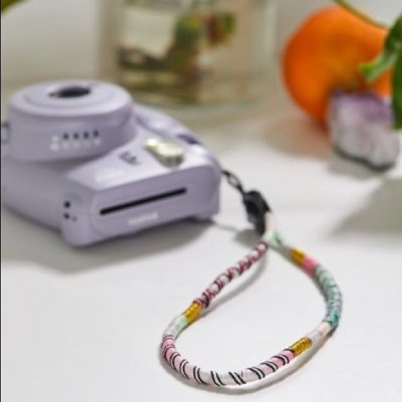 Le Pom Pom wrist strap for Instax mini