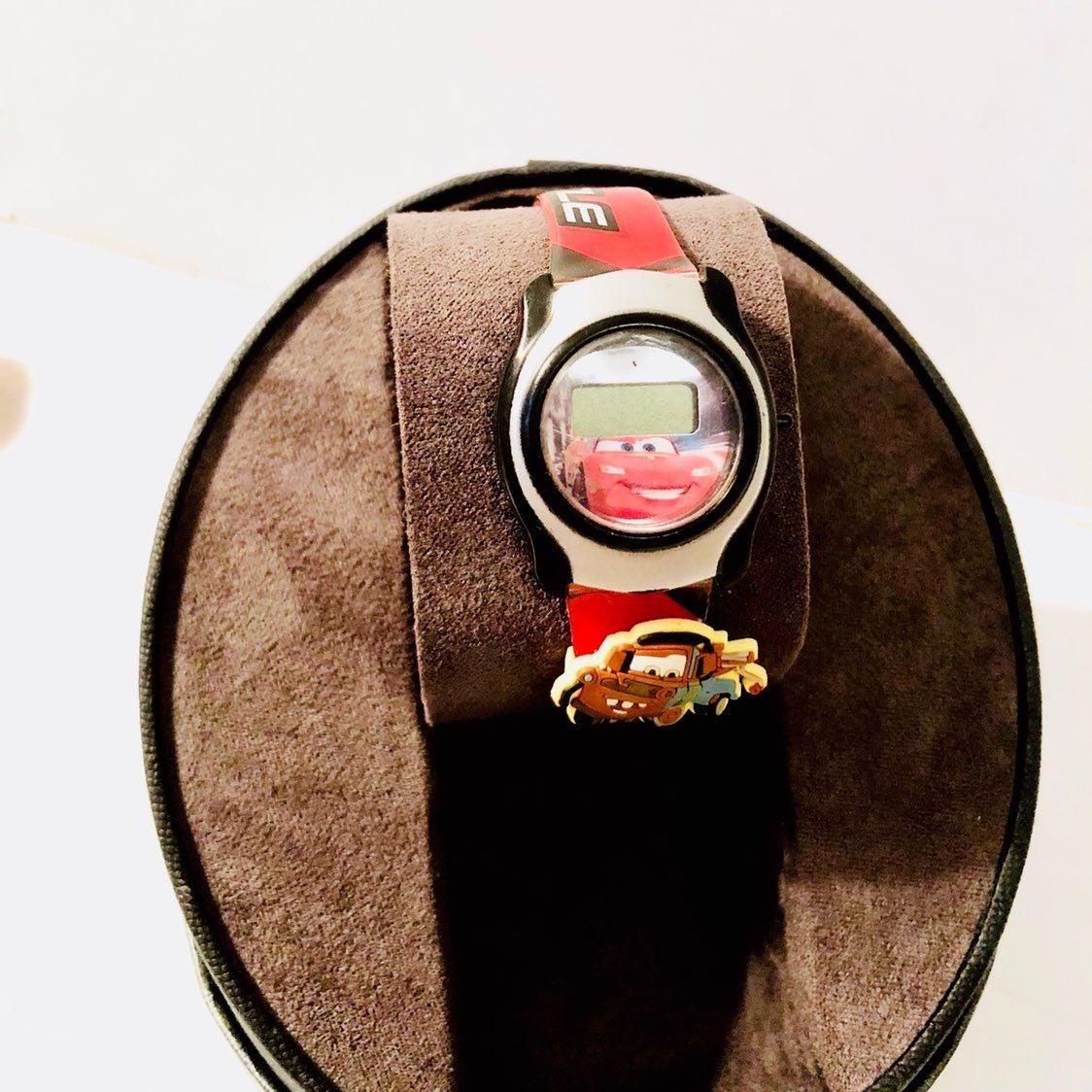 Disney Cars Digital LCD Mcqueen Watch