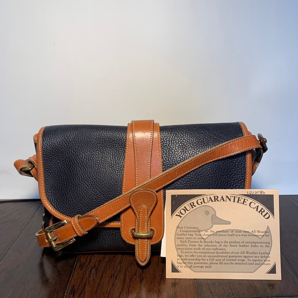 Vintage Dooney & Bourke Classic Bag