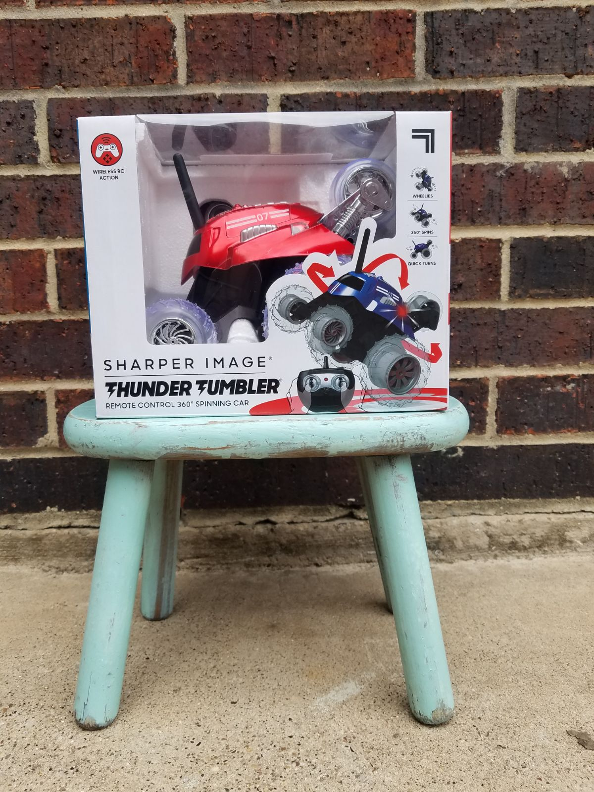 Thunder 360 Spinning RC Car Sharper Imag