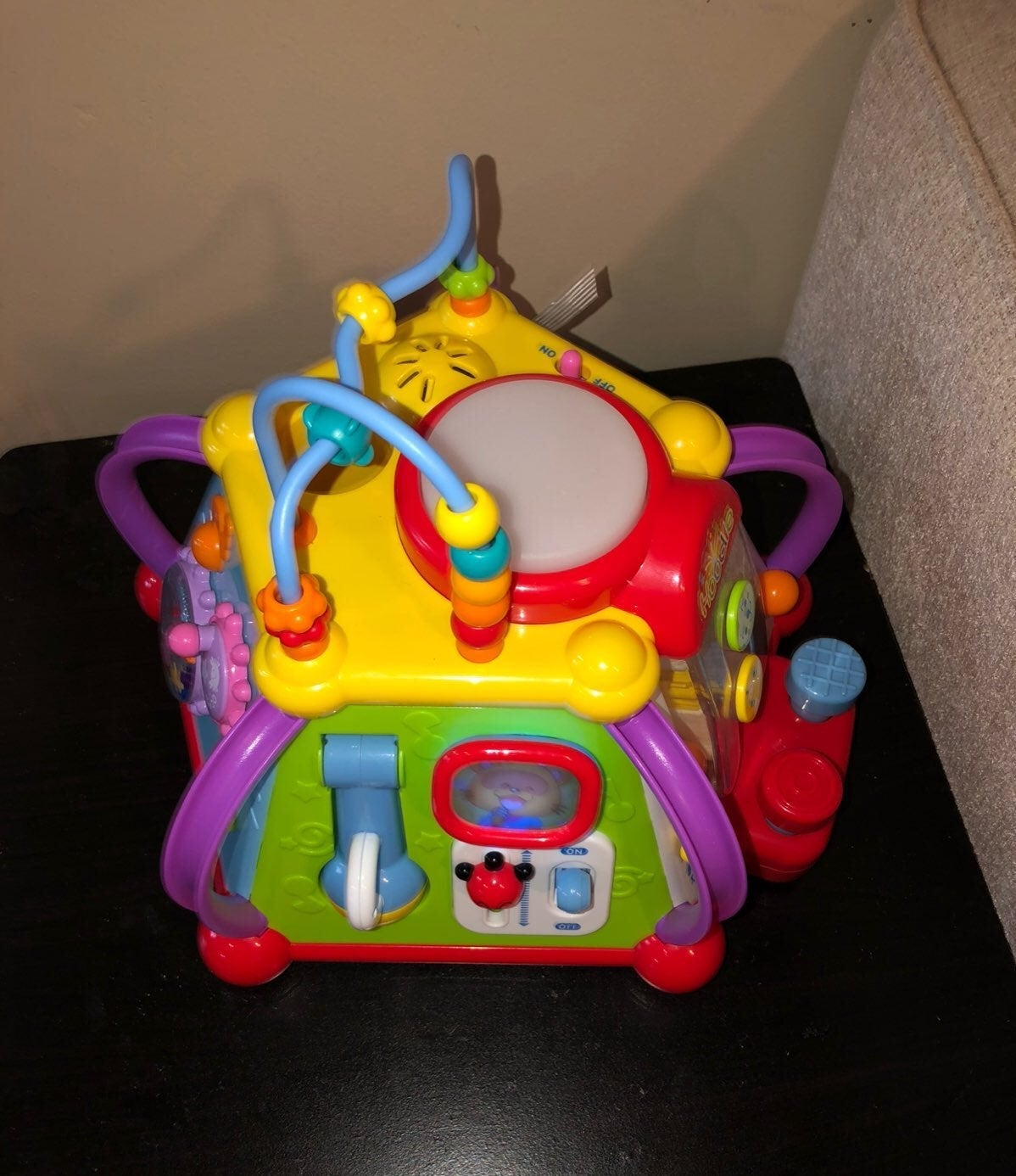 musical cube play center