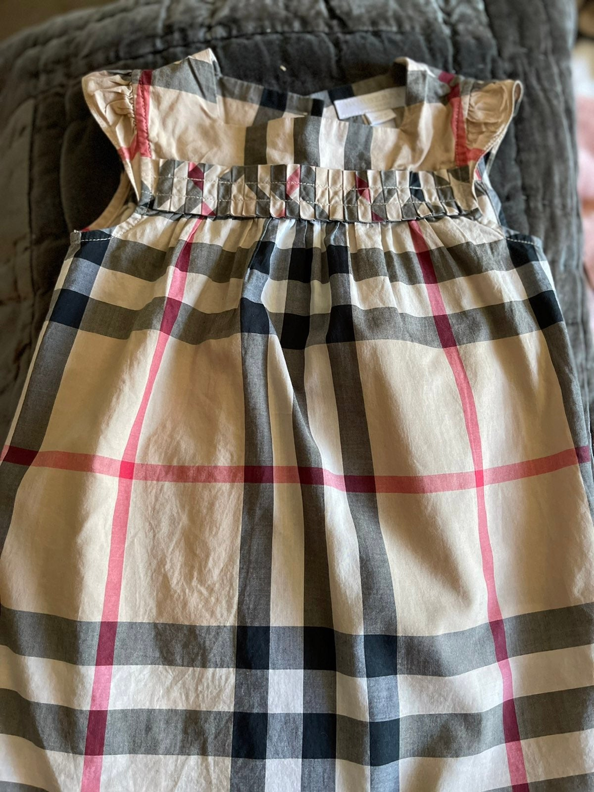 Burberry dress and matching leggings!