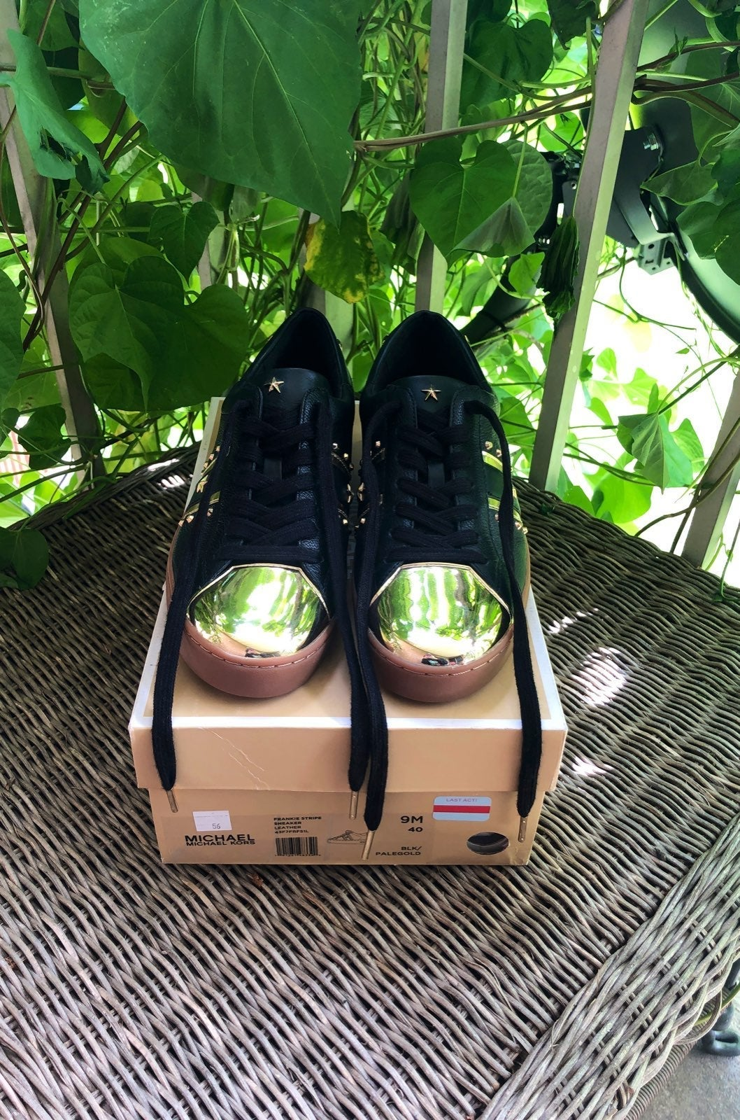 "Michael Kors ""Frankie Stripe"" sneaker"