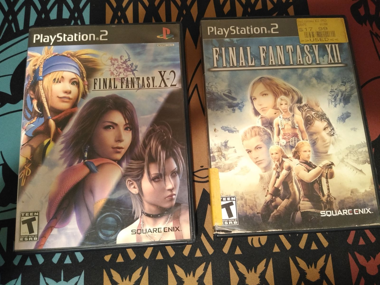 Final Fantasy X-2 and XII