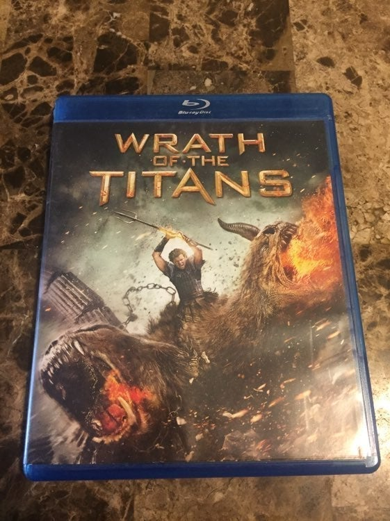 Wrath Of The Titans Blu-Ray