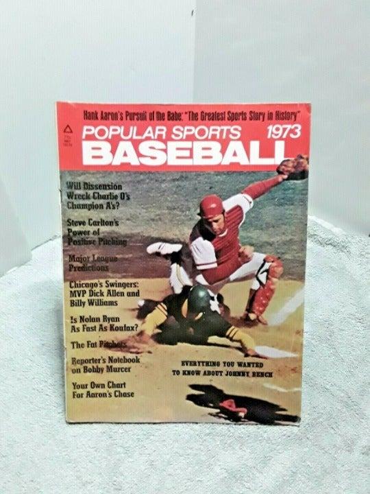 Popular Sports Baseball 73 Mag J Bench