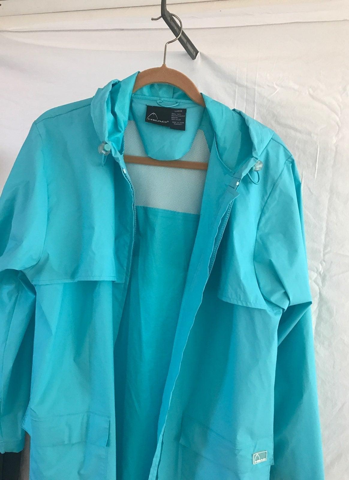 jacket Head Jacket With Hood Sz L Unisex