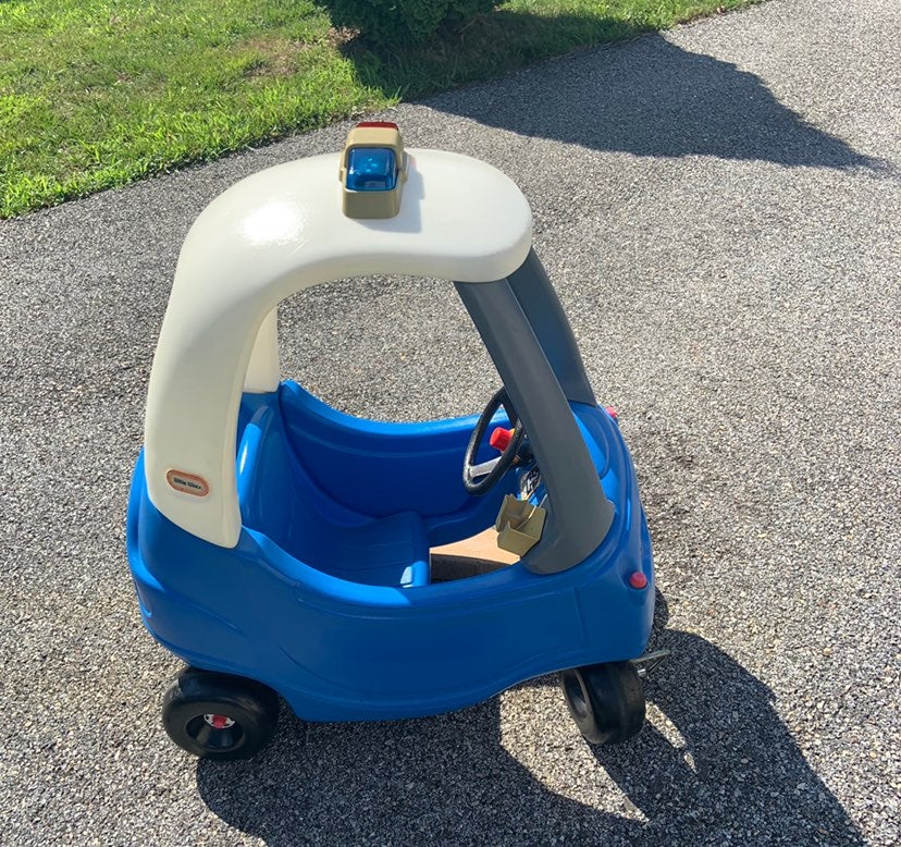 Little Tikes Toddler Coupe Police Car