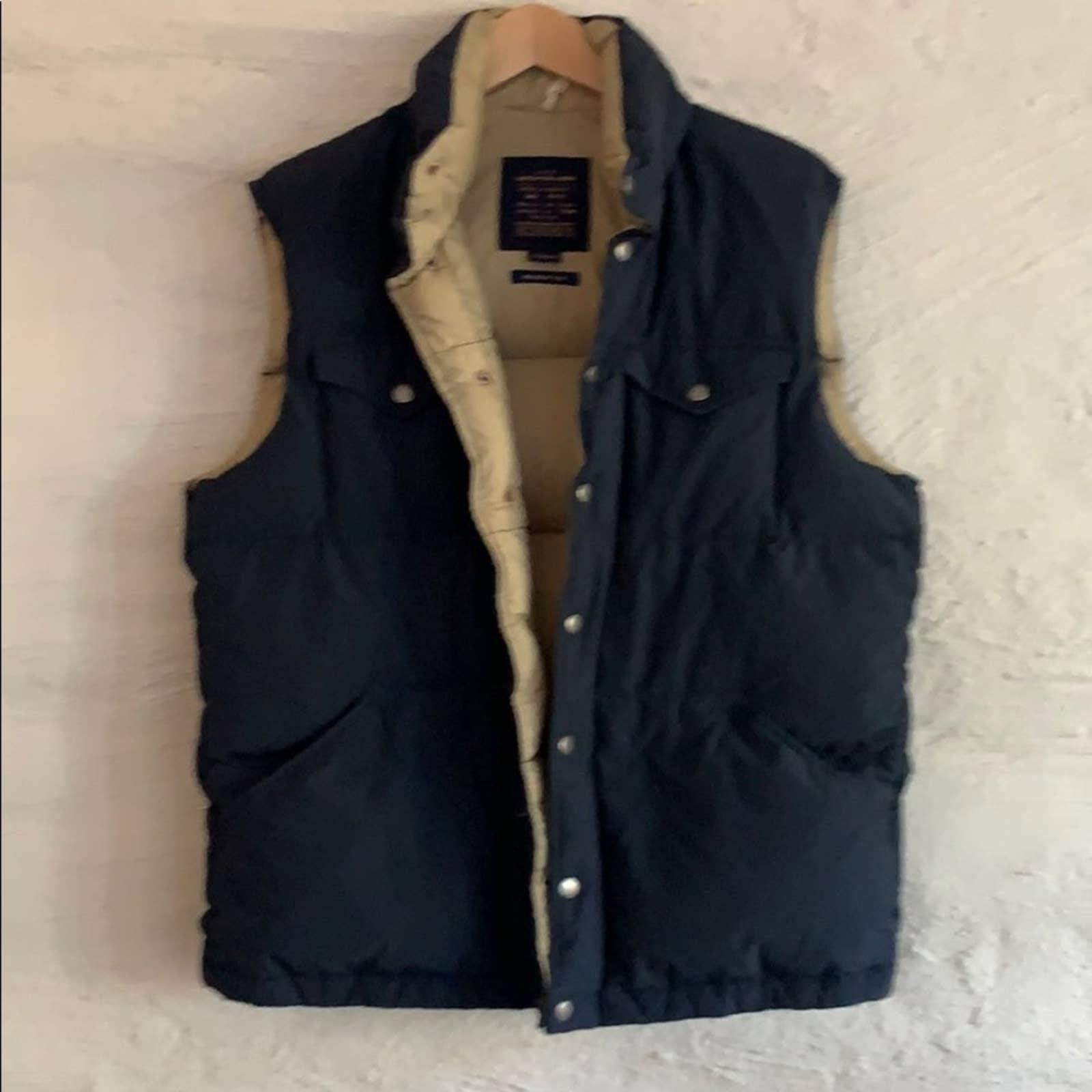 NWOT JCrew Mens Premium Puffer Down Vest
