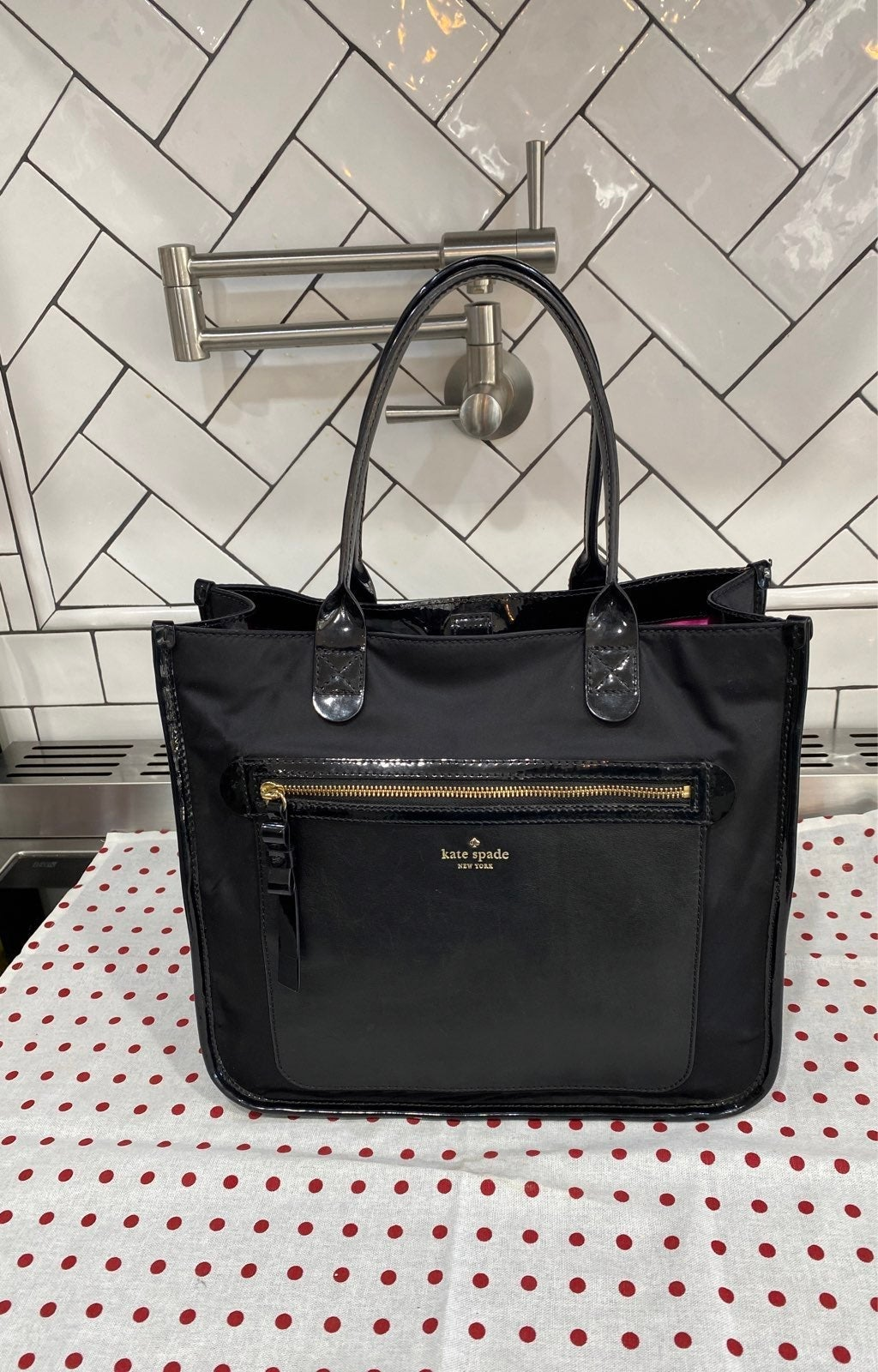 Kate Spade New York Black Tote Bag