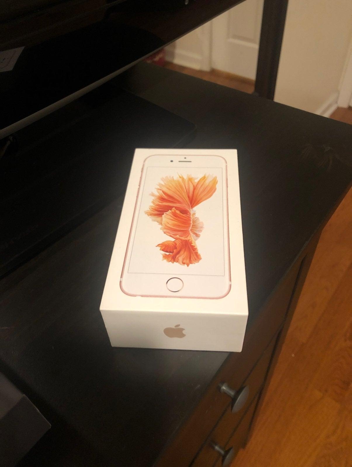 Empty iPhone Box - 6s