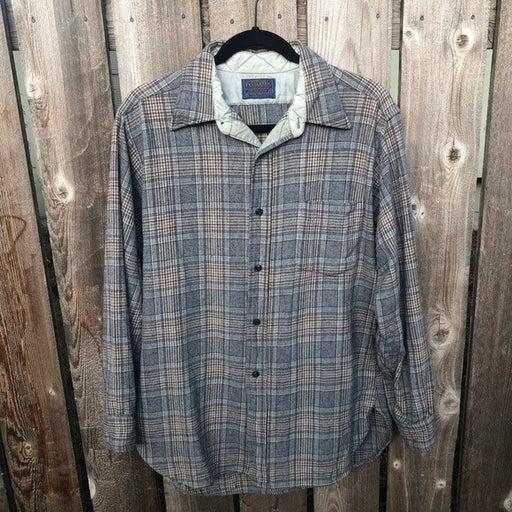 Men's Pendleton Wool Button Down Flannel