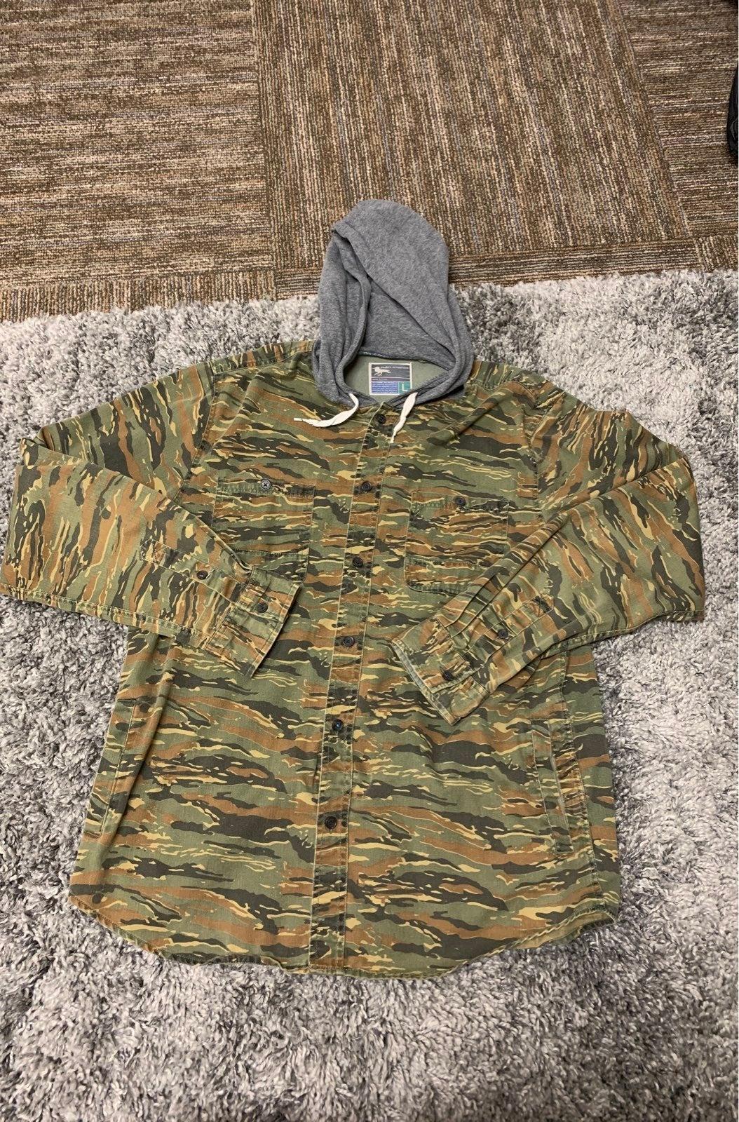 Modern amusement shirt jacket