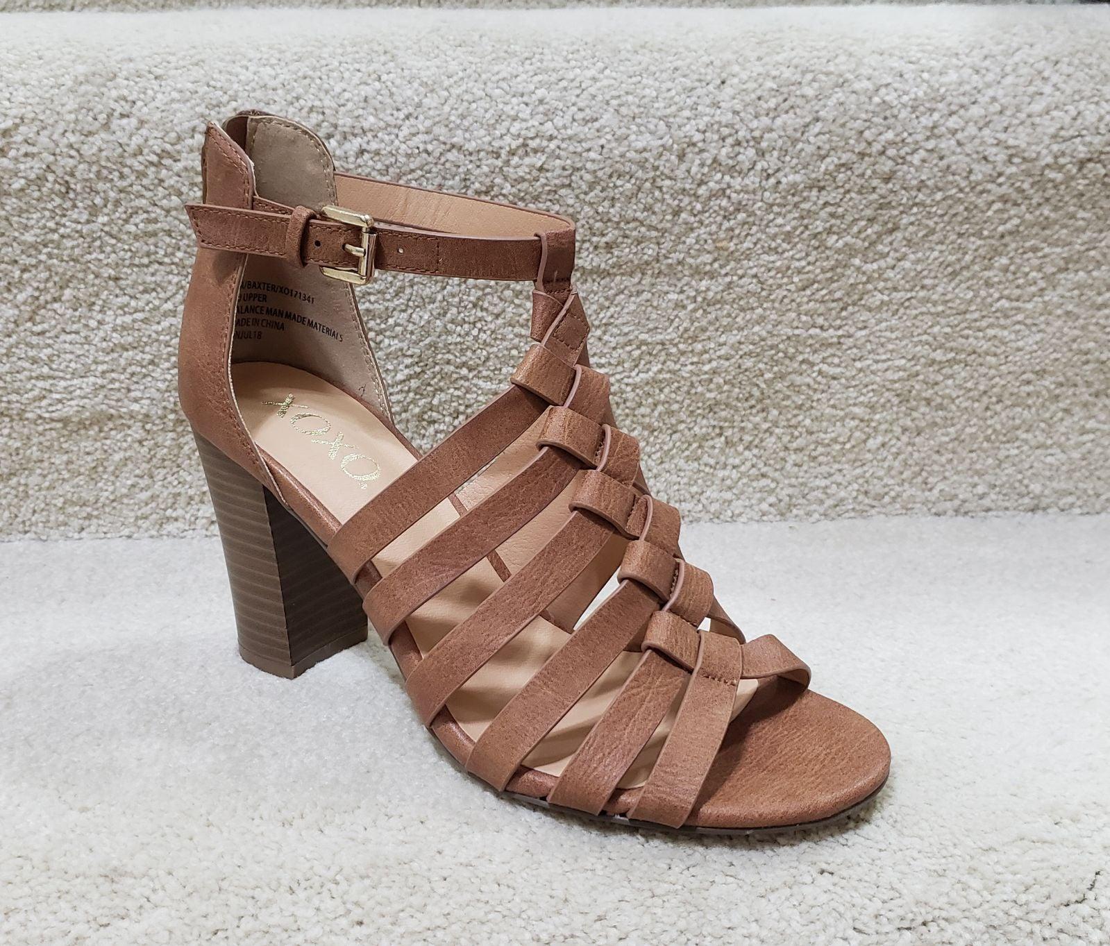 XOXO Baxter Wedge Beige Sandals, Beige 8
