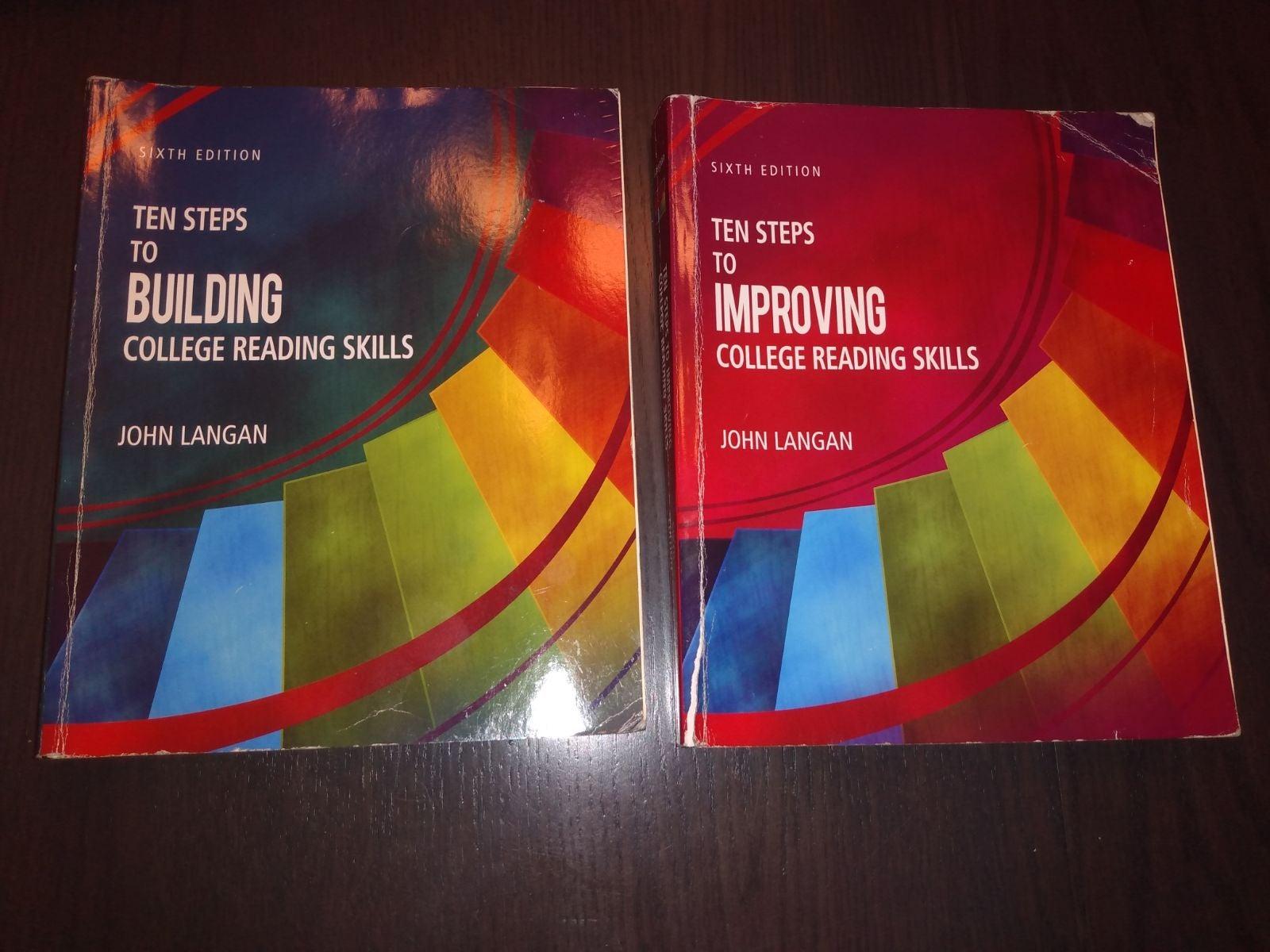 English Textbooks John Langan (6th Editi