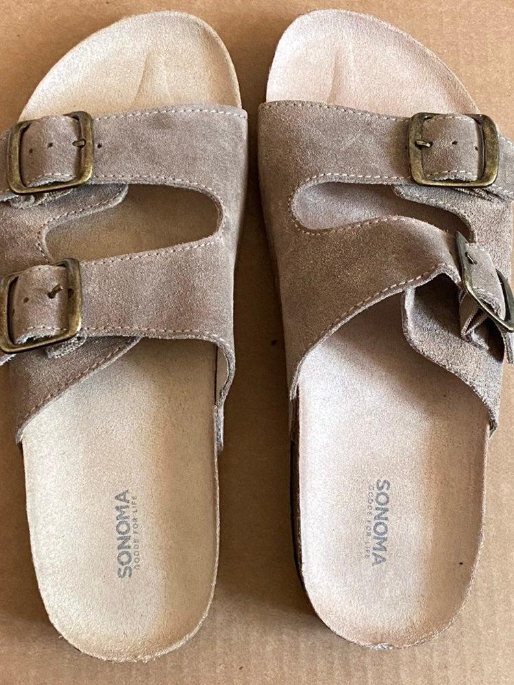 Sonoma Cork Slip On Sandals